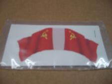 MARX BATTLEGROUND EUROPEAN PLAY SET DECAL STICKER RUSSIAN HAND MADE FLAG