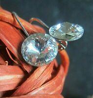 funkelnde vintage ohrringe ohrhänger mit traum kristallen von Swarovski®