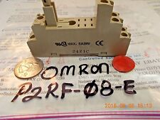 Omron P2RF-08-E Relay Socket Base 5A 250V