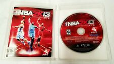 PS3 NBA 2k13 Game