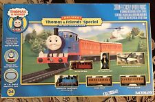 Bachmann Trains Deluxe Thomas & Friends Special Kids Train Set +Track+Helicopter