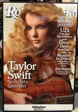 "ROLLING STONE TAYLOR SWIFT POSTER FRAMED! 22""X34"" AUTHENTIC ISSUE 1073 RARE!"