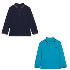 NEW Boys Long Sleeve Polo Top Shirt Bluezoo Dinosaur 18-24m 2 3 4 5 6 Years Teal