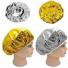 Disposable Shower Cap Aluminum Foil Waterproof Bath Hoods Baking Oil Hair Cap
