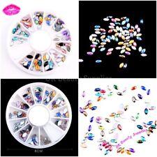 3D Nail Art Decoration - JELLY Diamantes Rhinestones Gems Beads - UK SELLER