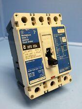 Westinghouse HFD3020L 20A Series C Circuit Breaker Matte 600V 3P HFD3020 20 Amp