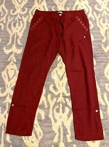 Roxy Womens Linen Pants Sz.L