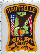 Hartselle Police (Alabama) Shoulder Patch - New from the 1980's