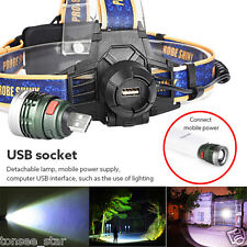 10000LM XM-L T6 LED Headlamp Headlight Flashlight Head Light Lamp 18650 Batterie