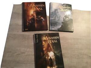 LOT BD L'ASSASSIN ROYAL Robin Hobb