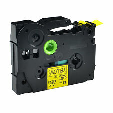 1 PK TZ Tze 631 Label Tape Black on Yellow For Brother P-Touch PT1010 PT1180 ST5