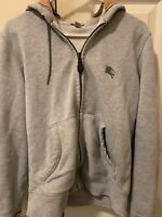 Burberry Zip Up Hoodie Size Small