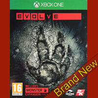 EVOLVE - Microsoft Xbox ONE ~16+ Action Game ~ Brand New & Sealed!