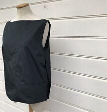NWT Cos Dark Green Zip Detail Scoop Back Sleeveless Top Size 10