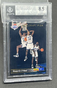 1992-93 BGS 8.5 Upper Deck #1 Shaquille O'Neal SP NBA FIRST DRAFT PICK RC Card