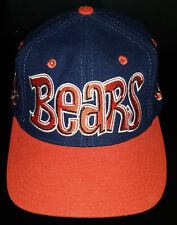 Vintage Chicago Bears Graffiti Snapback Hat by Drew Pearson NFL