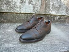 CROCKETT & JONES BROGUES – BROWN ROUGH SUEDE – EXMOOR - UK 10 – EXCELLENT COND