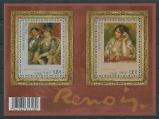 F4406 - FEUILLE DE TIMBRES NEUFS - Pierre-Auguste Renoir - Peintre // 2009