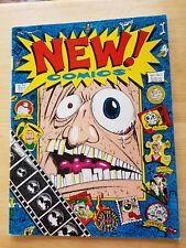 NEW! COMICS #1 Ludwig Daas GEORGE ASHCROFT Shaun Hayes-Holgate comic book RARE