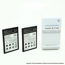2 x 2800mAh Battery for Samsung Galaxy S4 IV Mini i9195 i9190 i9192 B500 Dock