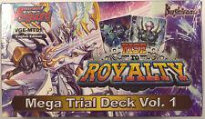 Cardfight Vanguard Rise to Royalty Mega Trial Deck Vol 1 Sealed Box English