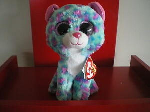 Ty Beanie Boos SYDNEY leopard 6 inch NWMT.Claire's UK Exclusive. IN STOCK NOW