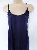 BNWT NEXT Ladies navy strappy cheesecloth summer beach sun maxi dress SIZE 6 10