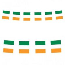 10FT IRELAND IRISH ST PATRICKS DAY PARTY DECORATIONS BUNTING RUGBY FLAGS