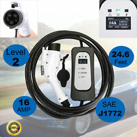 Electric Vehicle Car EV Charger Level 2 220V 16A NEMA6-20 J1772 Charging Station