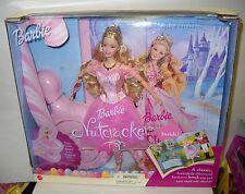 #4138 NRFB The Nutcracker Ballet Barbie as Sugarplum Fairy Doll & Book Giftset