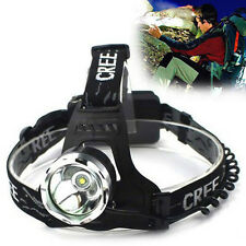 NEW 1800 Lm CREE XM-L XML T6 Focus LED Headlamp Headlight Head Torch Lamp Light