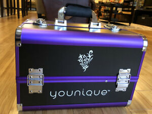 Younique Selfie Trunk Make-up Storage / Travel Case PURPLE & BLACK NEW