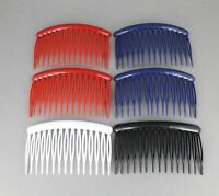 "Details about  /Black plastic hair chop sticks accessory picks pins 7.5/"" long set of 2"