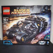 Lego Batman Super Heroes 76023 The Tumbler - NEW in Box - Retired Set