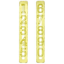 FMM Cutter Grand Nombre Set Glacage Emporte-piece Fondant Gateau Decoration