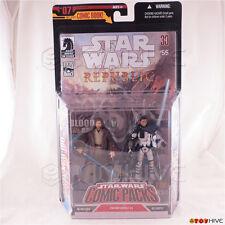 Star Wars Comic Packs Obi-Wan Kenobi & Arc Trooper Action Figures issue #55 2006