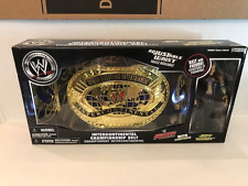 JEFF HARDY SIGNED WWE INTERCONTINENTAL CHAMPIONSHIP BELT ACTION FIGURE WWF WCW