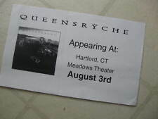 Queensryche 1997 Hartford Ct Promotional Concert Flyer/Poster