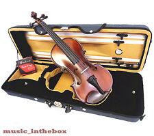 Student Model - 4/4 Antique Style Violin +Bow+Rosin+Square Case +String set