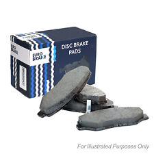 For Ssangyong Istana 2.9 D Eurobrake Front Disc Brake Pads Set