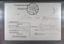 Camp Oflag XIB Braunschweig 1940 POW Prisoner of War Kriegsgefangenenpost (K8)