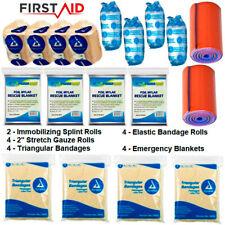 MEDICAL REFILL PACK FIRST AID PREPPER KIT BUG OUT BAG SUPPLIES EMT EMS RESPONDER