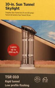 Velux Sun Tunnel Tubular Skylight Rigid Tunnel Low Profile Metal Flashing Tube