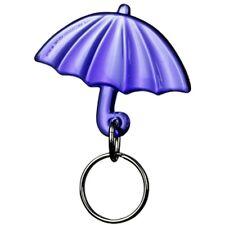 Gadget portachiavi a forma di ombrello color VIOLA ombrellino mare pioggia sole