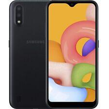 Samsung Galaxy A01 16GB/2GB RAM Dual SIM Unlocked, International Version - Black