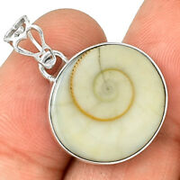 Shiva Eye 925 Sterling Silver Pendant Jewelry PP208348
