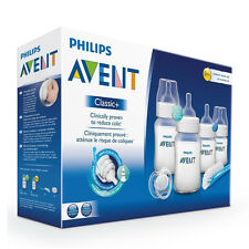 AVENT Newborn Starter Set Classic+ Baby Feeding Bottles New Design SG-551