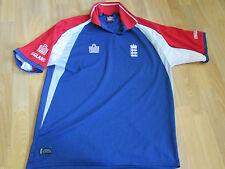 ADMIRAL Inghilterra Giocatore di Cricket Vodaphone Player Issue Top Adulto Taglia XL