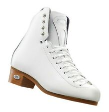 New Riedell Model 32 ice Figure Skate Boots Size 12 Width Narrow Withe No Blades