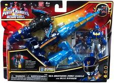 POWER RANGERS MEGAFORCE ZORD VEHICLE & FIGURE SEA BROTHERS AND BLUE RANGER